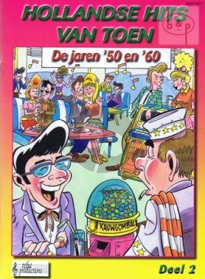 Hollandse Hits van Toen Jaren 1950 - 1960 Vol.2 Keyboard/Gitaar