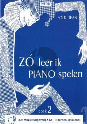 Dean Zo leer ik Piano Spelen Vol.2