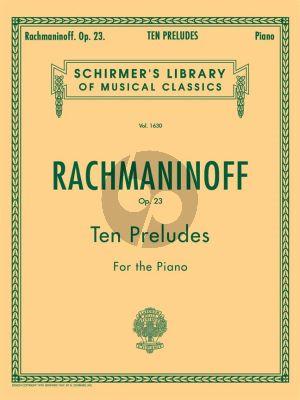Rachmaninoff 10 Preludes Op.23 Piano solo (Schirmer)