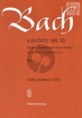 Kantate BWV 10 - Meine Seele erhebt den herren (My soul doth magnify the Lord)