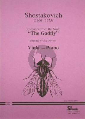 Shostakovich Romance from the Gadfly Viola-Piano (Otty)