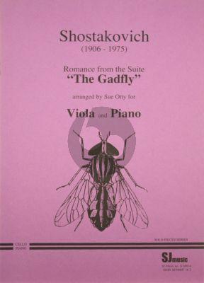 Shostakovich Romance from the Gadfly Viola-Piano (Otty)