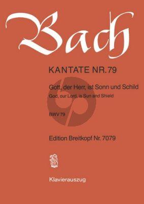Bach Kantate No.79 BWV 79 - Gott, der Herr, ist Son und Schild (God, our Lord, is Sun and Shield) (Deutsch/Englisch) (KA)