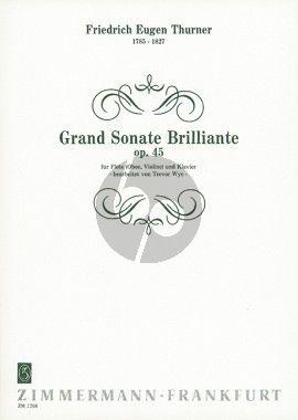 Thurner Grand Sonate Brillante Op.45 Oboe[Flöte/Violine]-Klavier (Trevor Wye)