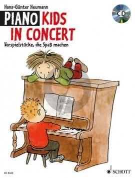 Heumann Piano Kids in Concert (Vorspielstücke, die Spaß machen) (Bk-Cd)