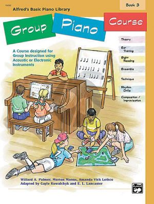 Alfred Basic Group Piano Course Vol.3
