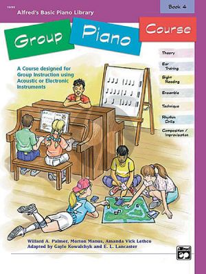 Alfred Basic Group Piano Course Vol.4