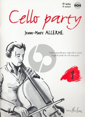 Allerme Cello Party Vol. 1 Violoncelle et Piano (Pieces Originales) (Bk-Cd)