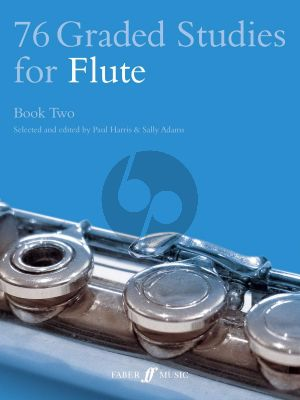 Harris-Adams 76 Graded Studies Vol. 2 for Flute (No. 55 - 76)