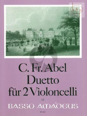 Duetto WKO 228 (2 Violoncellos)