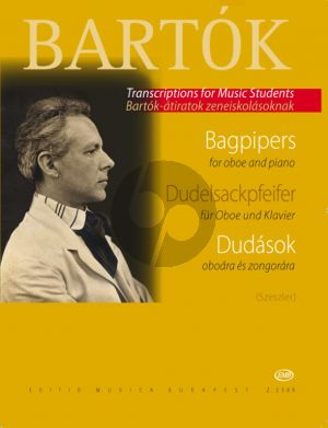 Bartok Dudasok - Bagpipers for Oboe and Piano (edited by Tibor Szeszler)