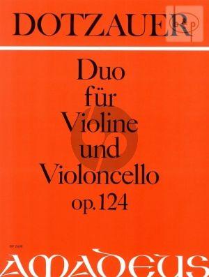 Duo Opus 124 Violin and Violoncello