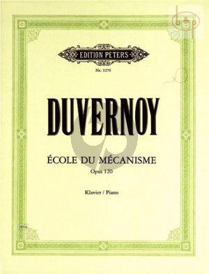 Ecole du Mecanisme Op.120 Klavier