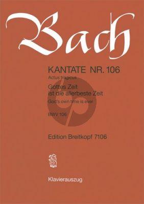 Kantate BWV 106 - Gottes Zeit ist die allerbeste Zeit (God's own time is ever)