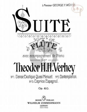 Suite Op. 60 for Flute and Piano