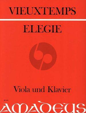 Vieuxtemps Elegie Op.30 Viola und Klavier (Bernhard Pauler)