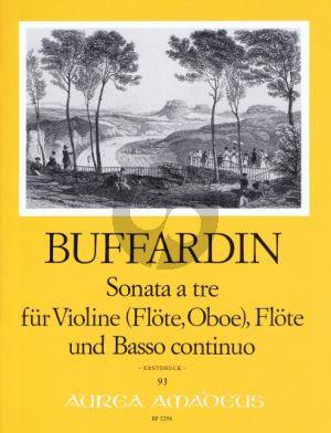 Buffardin Triosonate A-dur Violine oder Flöte / Oboe, Flöte (Violine) und Bc (Part./Stimmen) (Weizierl-Wachter)