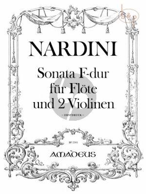 Sonata F-major (Flute- 2 Violins)