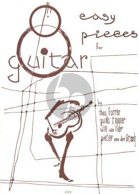 8 Easy Pieces for Guitar (edited by Pieter van der Staak)