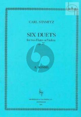 6 Duets Op.27 2 Flutes or 2 Violins