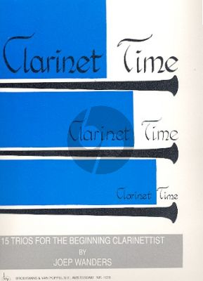 Wanders Clarinet Time (15 Easy Trios) (Grade 1 - 2) (Playing Score)