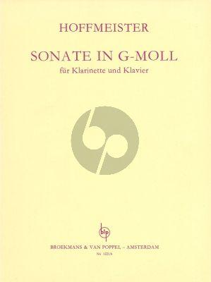Hoffmeister Sonata g-minor Clarinet and Piano (Gyorgy Balassa)