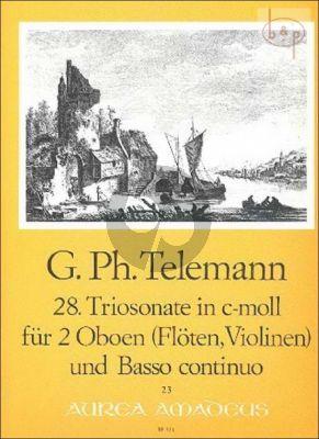 Triosonata c-minor TWV 42:c4 (2 Oboes[Fl./Vi.]- Bc)