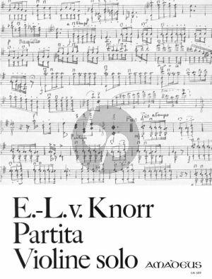 Knorr Partita Violine solo (1946)
