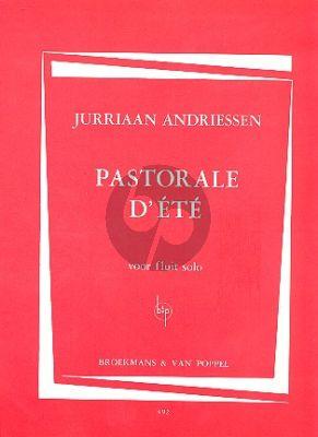 Andriessen Pastorale d'Ete Flute solo
