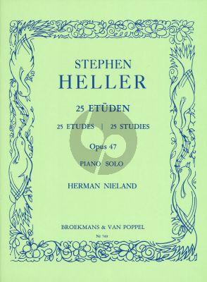 Heller 25 Studies Op.47 Piano (Herman Nieland)