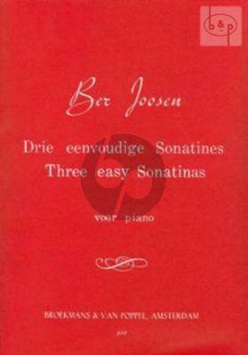 3 Easy Sonatinas