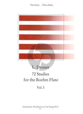 72 Studies for the Boehm Flute Vol.1