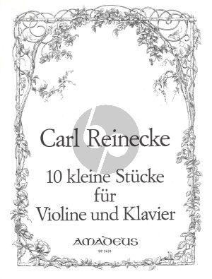 10 sehr leichte Stucke Op.213 Violine - Klavier