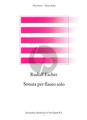 Sonata Opus 16 (1949) Flute solo