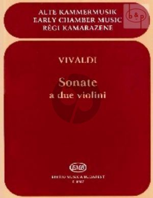 4 Sonatas for 2 Violins (RV 68 - 70 - 71 - 77)