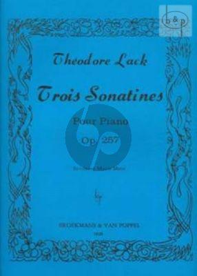 3 Sonatinas Op.257