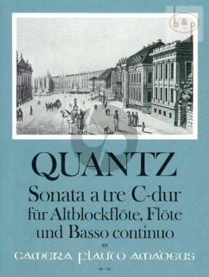 Sonate a tre C-dur QV2 Anh.3 (Treble Rec.- Flute[Violin]-Bc)