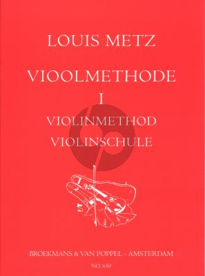 Metz Vioolmethode (Violin Method / Violine Schule) Vol.1