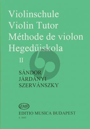 Sandor Violin Method Vol.2 (Violinschule - Violin Tutor)