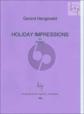 Holiday Impressions Piano solo