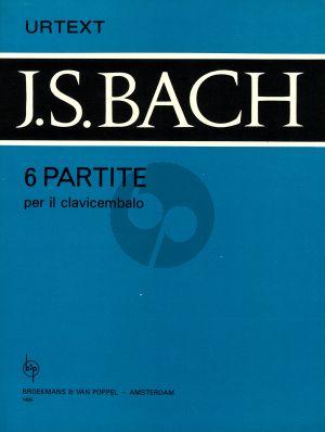 Bach 6 Partitas BWV 825 - 830 Piano Solo (Urtext)