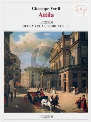 Verdi Attila Vocal Score (it.)