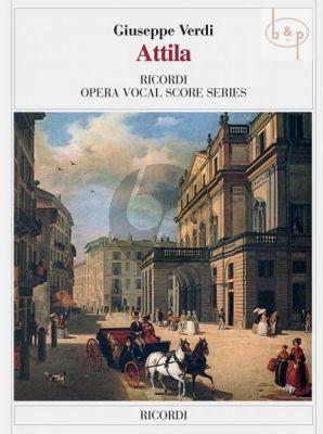 Verdi Attila Vocal Score (it.)