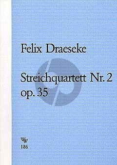 Streichquartett No.2 Op. 35