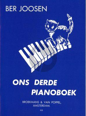 Joosen Ons derde Pianoboek