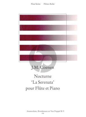Coenen Nocturne 'La Serenata' Flute-Piano (edited by Rien de Reede)