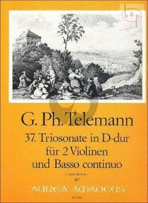 Triosonate D-dur TWV 42:D13