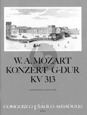 Mozart Concerto G-major KV 313 Flute-Orch. (piano red.) (Martin Wendel)