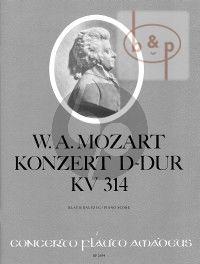Konzert D-dur KV 314 (Flote-Orch.) (KA.)