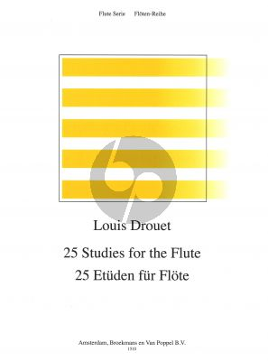 25 Studies (incl. Modulation Study on the Blue Bells of Scotland) for Flute